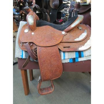 Circle Y 16'' Western Show Saddle