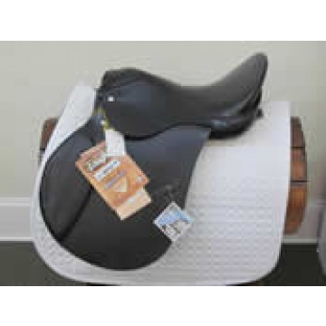 "Tough-1 Silver Fox 17"" All Purpose Saddle"