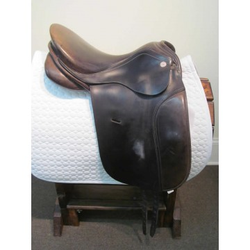 "Arabian Saddle Co. 17"" Dressage Saddle"