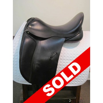 "Black Country 17-1/2"" Dressage Saddle -SOLD!"