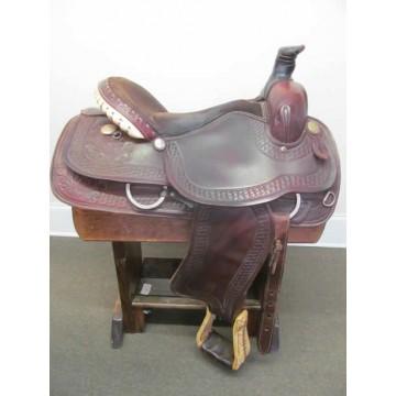 "Western 16-17"" Roping Saddle"