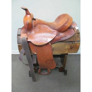 """Blevins Saddlery 14"""" Western Barrel Saddle"""