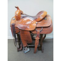 "Koen 16"" Western Reining/Cutting Saddle"