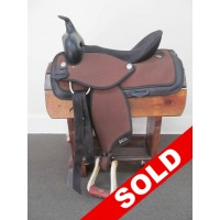 "Abetta 16"" Synthetic Western Saddle - SOLD!"