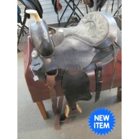 "Saddle King 15"" Round Skirt Barrel Saddle"