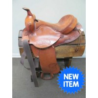 "Blevins Saddlery 14"" Western Barrel Saddle"