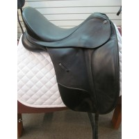 Bates 17'' Dressage Saddle