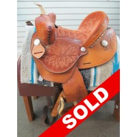 Dakota 12 1/2'' Youth Barrel Saddle
