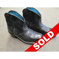 Ariat Women's 8-1/2 Black Ankle Boots -SOLD!!