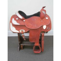 American Saddlery 16'' Western Show Saddle w/Breast Collar & Headstall