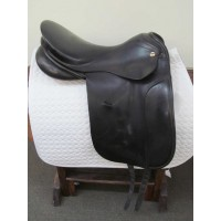 "Arabian Saddle Co. 17-1/2"" Dressage Saddle"