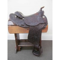 "Circle Y 15"" Round Skirt Western Saddle"