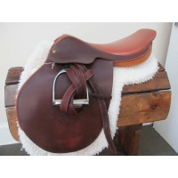"Crosby 17-1/2"" Close Contact Saddle"