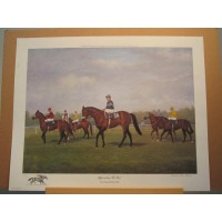 """Approaching The Start"" by Richard Stone Reeves - Signed & Numbered Print!"