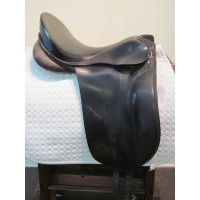 "Otto Schumacher 17-1/2"" Dressage Saddle"