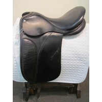 "Jeffries 17-1/2"" Dressage Saddle"
