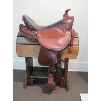 Custom Henry Miller Double Creek 17 1/2'' Western/Gaited