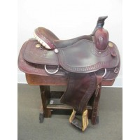 "Western 16-17"" Roping Saddle"