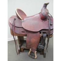 "Denver Colorado Saddlery 15"" Roping Saddle"