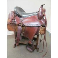 "Brenda Imus 4Beat 15"" Gaited Saddle"