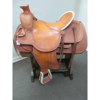 "Billy Cook 16"" Western Ranch Saddle"