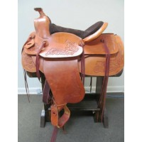 WesternAire 15'' Treeless Western Saddle