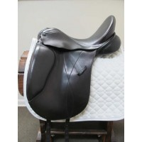 "Borne Saddlery 17-1/2"" Dressage Saddle"