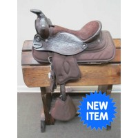 "Big Horn 12"" Western Youth Saddle"