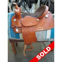 "Saddle King 15"" Western Saddle"